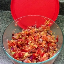 Fruit and Vegetable Salsa