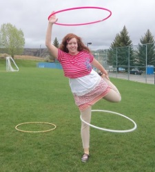 Hoola Hoops @ the Library