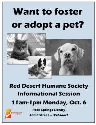 Humane Society Information Session
